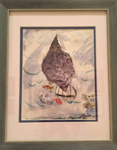 Carol Lupa Memorial AwardReed TierneyStudent, Youth WatercolorsThe Dark Falcon, 2016Watercolor